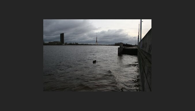 Aizturētais Gulbis mīklainos apstākļos no policijas auto uz tilta iekrīt Daugavā