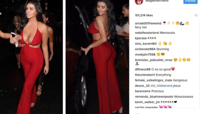 Kristaps Porziņģis 'met acis' uz kārdinošu 'Playboy' modeli