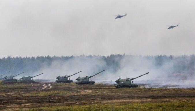 'Zapad' laikā militārās simulācijas aktivitātes apdraudējumu nacionālajai drošībai neradīja, atzīmē DP