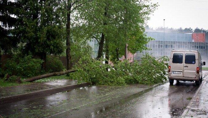 Negaisa radīto postījumu novēršanai palīdzība galvenokārt bijusi nepieciešama Rīgā