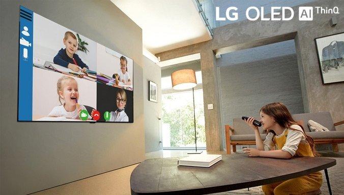 LG OLED TV — лучший телевизор для работы или учебы из дома