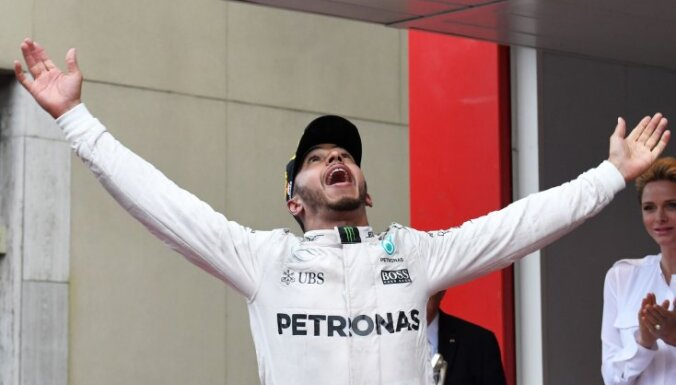 Mercedes AMG Petronas F1 Team s British driver Lewis Hamilton