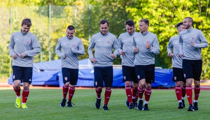 Latvijas futbola izlase cīņā par Baltijas kausu tiekas ar Lietuvu