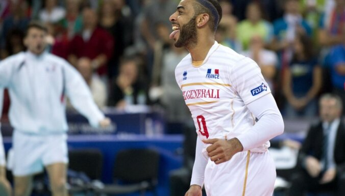 France s Earvin Ngapeth, European Volleyball