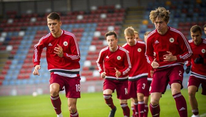 Nosaukts Latvijas U-21 futbola izlases kandidātu saraksts spēlei pret Krieviju