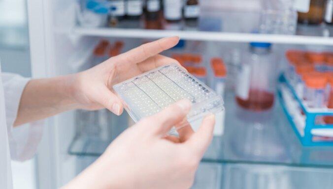 Talantīgā bioloģe Vainšeļbauma pēta iepriekš nenovērotu vēža šūnu dalīšanās parādību