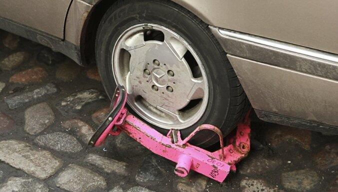 """С ноября в Ригу вернутся """"капканы"""" для автомобилей"""