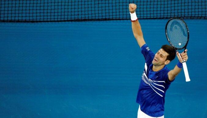 'Australian open' finālā 'saldais ēdiens' – Džokovičs pret Nadalu