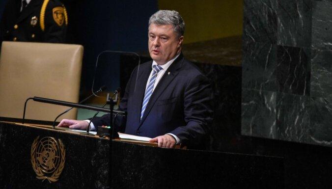 Порошенко заявил о вывозе в Россию промышленного потенциала Донбасса
