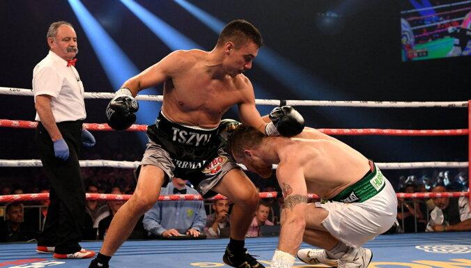Сын Кости Цзю нокаутировал ирландца и приблизился к титульному бою