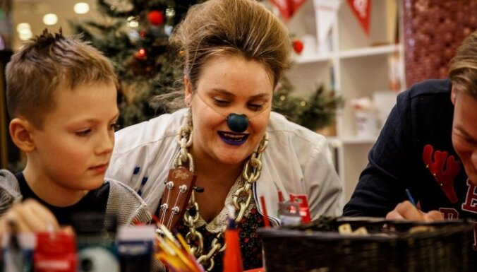 Lai atbalstītu dakterus Klaunus darbā ar bērniem, cilvēki aicināti ziedot savu darinājumus