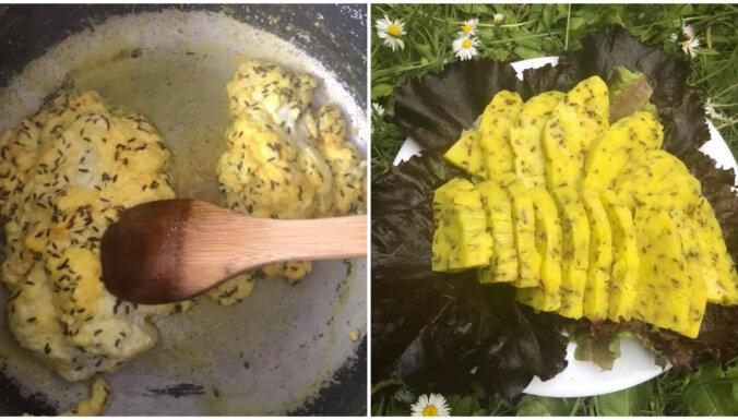 Foto recepte: Ātrais Līgo siers