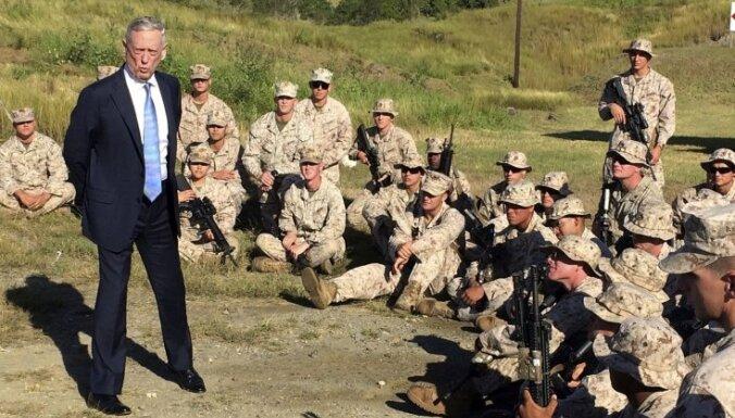 ASV aizsardzības stratēģijā terorisms vairs nav prioritāte