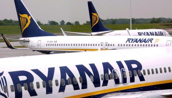 """Авиакомпания Ryanair должна аэропорту """"Рига"""" около 2 млн. евро"""