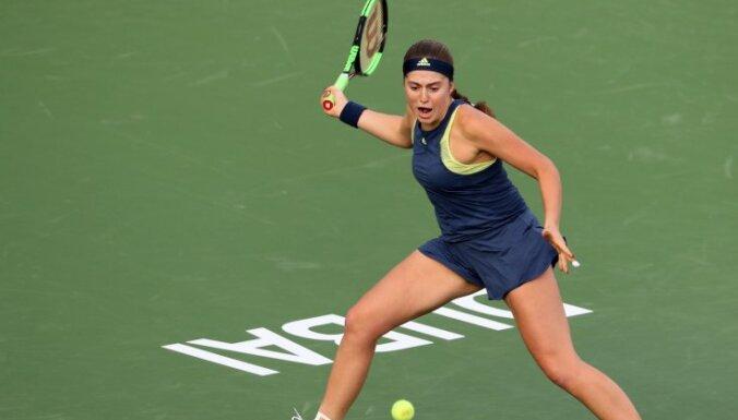 Ostapenko WTA rangā saglabā rekordvietu, Sevastova atgriežas TOP20
