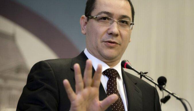 Rumānijas bijušais premjers Ponta stājas tiesas priekšā apsūdzībās par korupciju