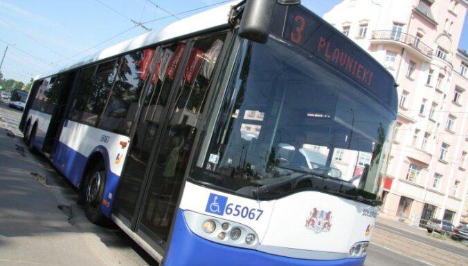 Рига: госпитализированы пассажирки, пострадавшие при падении в автобусах