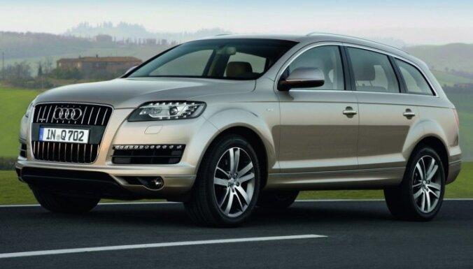 'Audi' izstrādājis visekonomiskāko 'Q7' modifikāciju
