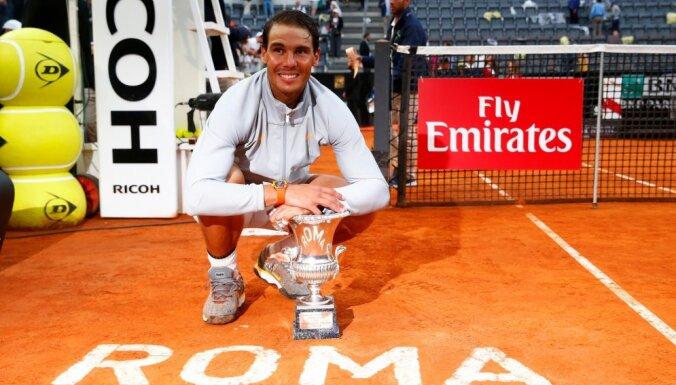 Надаль стал восьмикратным чемпионом Рима и сместит Федерера с вершины