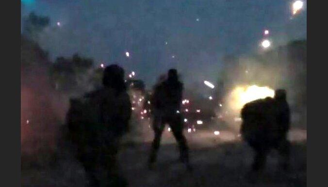 Video: Nofilmēts, kā uzbrukuma laikā krīt britu džihādists Tomass Evanss
