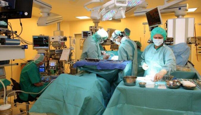 Bērnu slimnīcā pieciem bērniem veiktas sarežģītas – atvērtas sirds operācijas