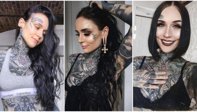Pasaulslavenā latviete Monami jeb Irēna nogriezusi 15 gadus audzētos matus