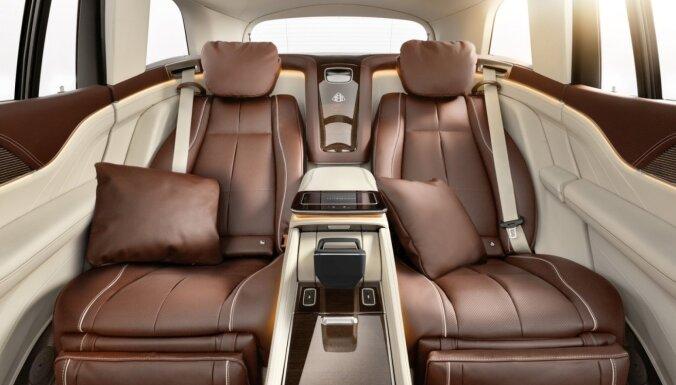 'Maybach' apvidus auto ar komfortu kā lidmašīnas biznesa klasē