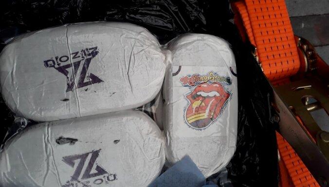 ФОТО. В Латвии изъяли тонну гашиша (ДОПОЛНЕНО)