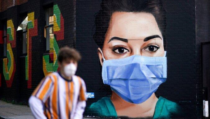 Pasaulē ar Covid-19 inficēto skaits pārsniedz 2,5 miljonus