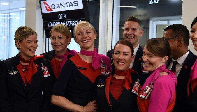 Austrālijas lidsabiedrība piedāvā reisus ar nezināmu galamērķi
