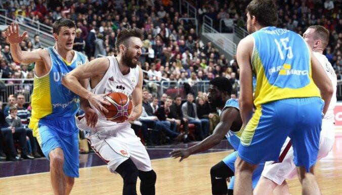 Сборная Латвии разгромила Украину в отборочном турнире ЧМ-2019