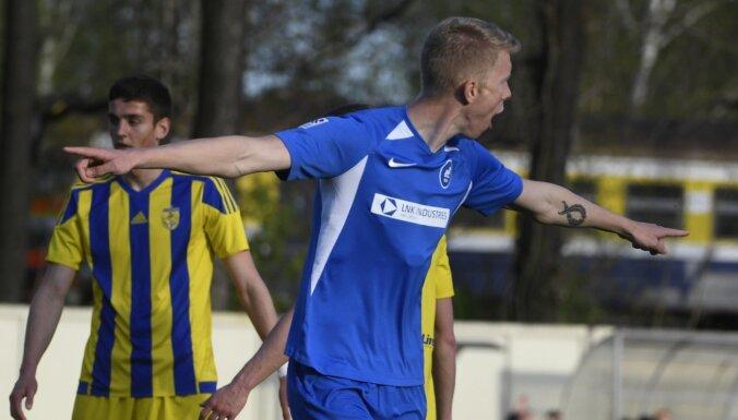 RFS futbolisti virslīgas līderpozīcijā nomaina 'Valmieru'