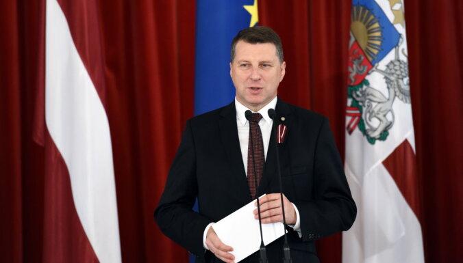 Латвийцы оценили работу президента страны на 5,8 балла