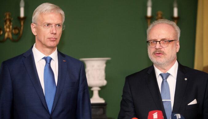 Левитс и Кариньш поддерживают введение санкций ЕС для белорусских чиновников