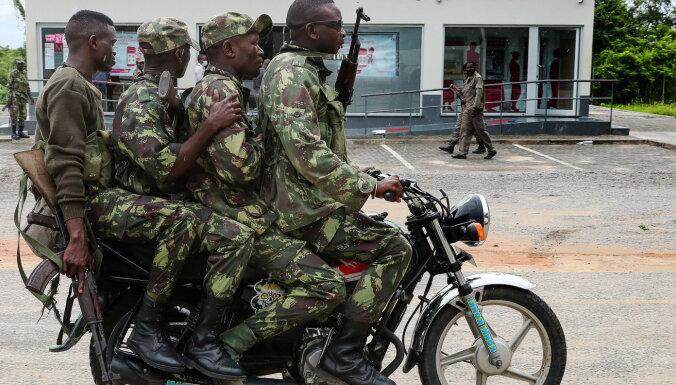 ES apsver militārpersonu nosūtīšanu uz Mozambiku
