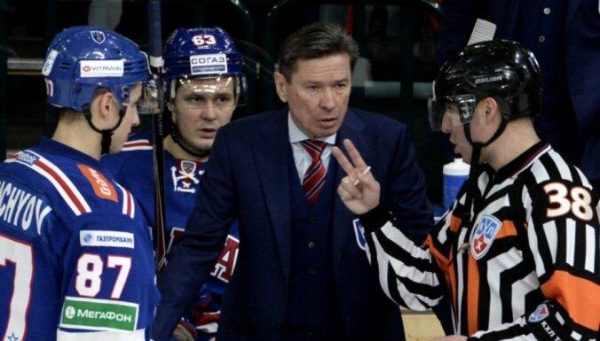 Чемпион КХЛ расстался с тренером Быковым и зовет Знарка