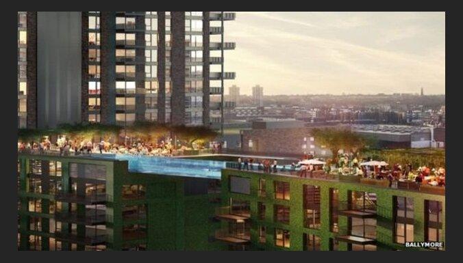 В Лондоне построят подвесной бассейн между домами