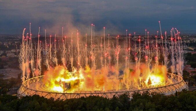 ФОТО: Как проходила торжественная церемония открытия ЕВРО-2020