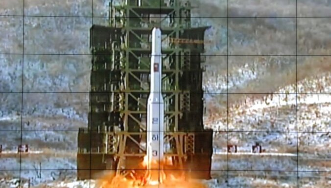 Американцы опознали три объекта, выведенных КНДР на орбиту
