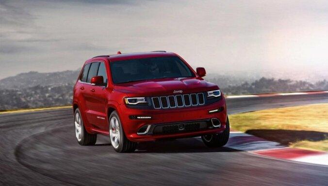 'Jeep' atjauninājis 'Grand Cherokee' modeli