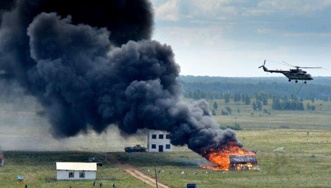 В России горит воинская часть с 40 000 снарядов: гремят взрывы, есть раненые, идет массовая эвакуация
