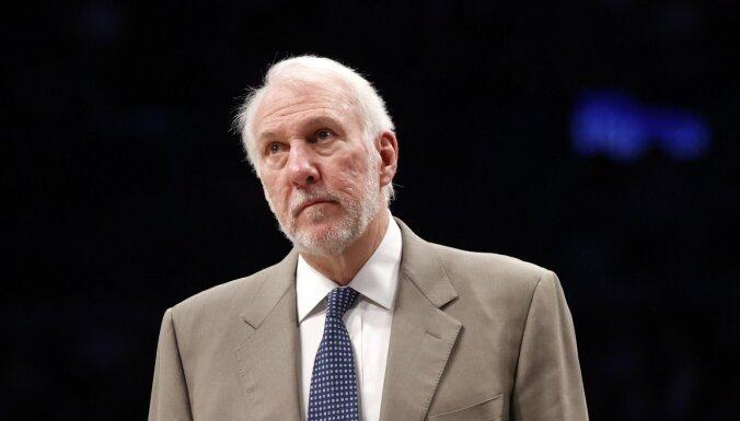 Medijs: 'Nets' izskatīs iespēju nolīgt titulēto Popoviču galvenā trenera amatā