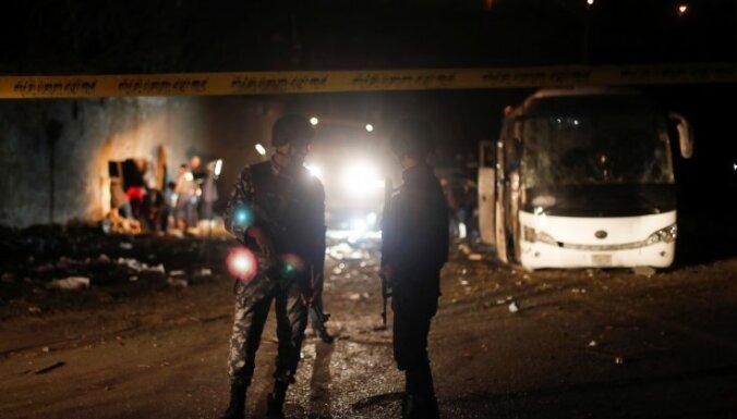 Ēģiptes policija nogalinājusi 40 teroristus par spridzināšanu pie Gīzas piramīdām