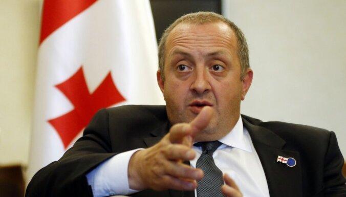 Krievijas un Abhāzijas līgums - solis uz aneksiju, uzsver Gruzijas prezidents