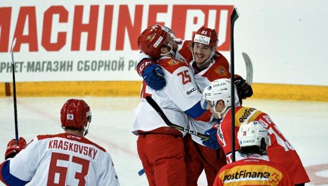 Уверенная победа над чехами не помогла сборной России выиграть Кубок Карьяла