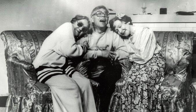 Vēsturiski foto: Valmieras teātra leģendai Ņinai Leimanei – 100