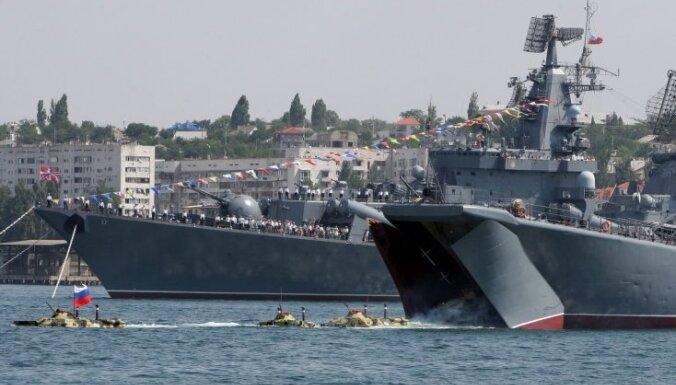Российский флот отработает сражения на учениях в трех морях