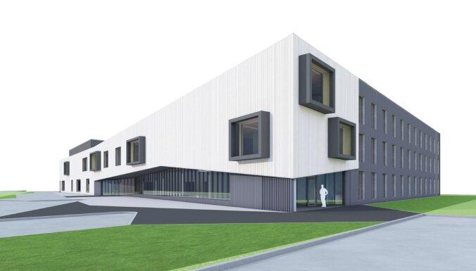 Vizualizācija: Piņķos par 10 miljoniem eiro būvēs jaunu koledžu ar dienesta viesnīcu