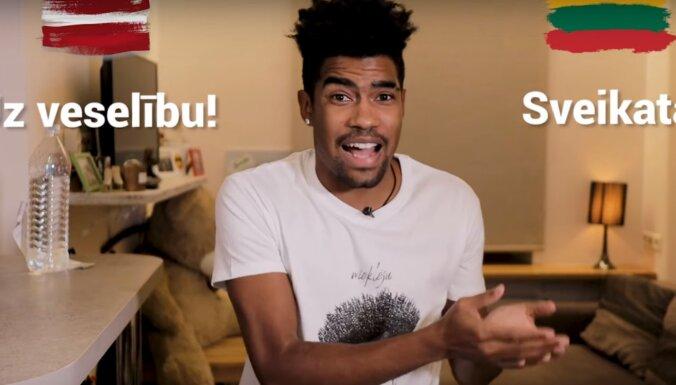 Video: Atraktīvais brazīlietis Felipe salīdzina latviešus un lietuviešus