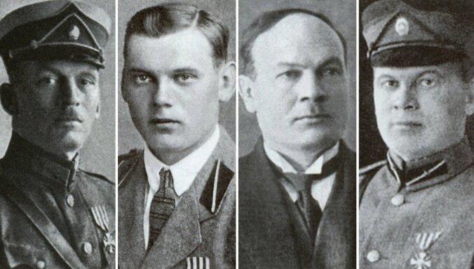 Viena ģimene – četri varoņi. Lāčplēša ordeņa kavalieri – brāļi Blaui
